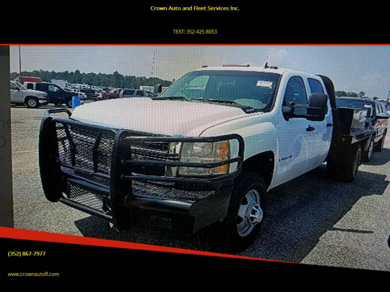 2008 Chevrolet Silverado 3500HD for sale at Crown Auto and Fleet Services Inc. in Ocala FL