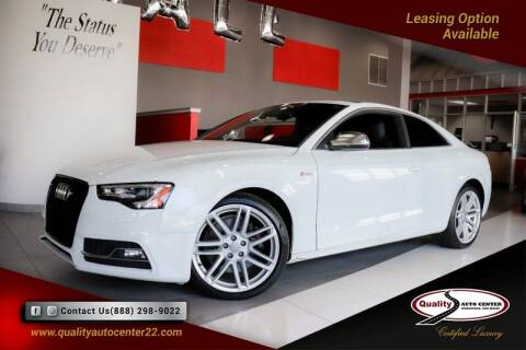 2015 Audi S5 for sale at Quality Auto Center of Springfield in Springfield NJ