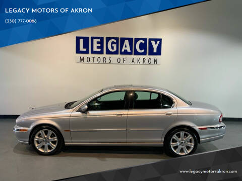 2003 Jaguar X-Type for sale at LEGACY MOTORS OF AKRON in Akron OH