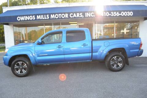 2005 Toyota Tacoma for sale at Owings Mills Motor Cars in Owings Mills MD