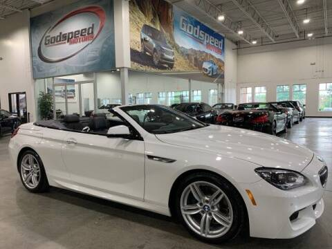 2014 BMW 6 Series for sale at Godspeed Motors in Charlotte NC