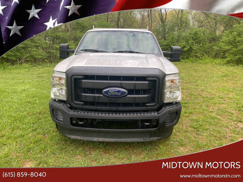 2011 Ford F-250 Super Duty for sale at Midtown Motors in Greenbrier TN