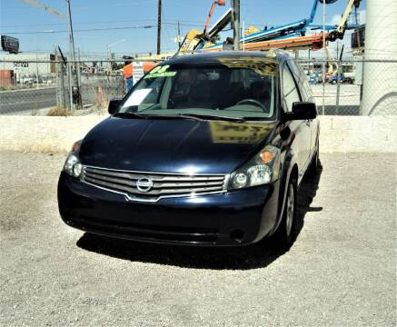 2008 Nissan Quest for sale at DESERT AUTO TRADER in Las Vegas NV