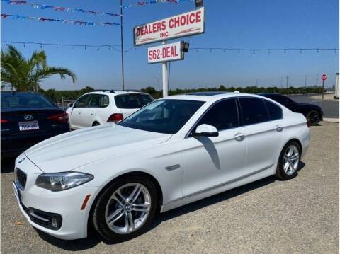 2015 BMW 5 Series for sale at Dealers Choice Inc in Farmersville CA