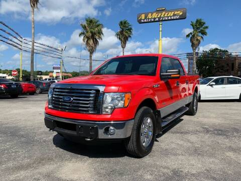2011 Ford F-150 for sale at A MOTORS SALES AND FINANCE in San Antonio TX