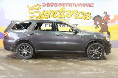 2017 Dodge Durango for sale at Sundance Chevrolet in Grand Ledge MI