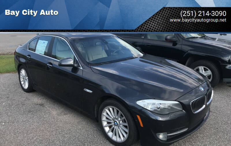 2011 BMW 5 Series for sale at Bay City Auto's in Mobile AL