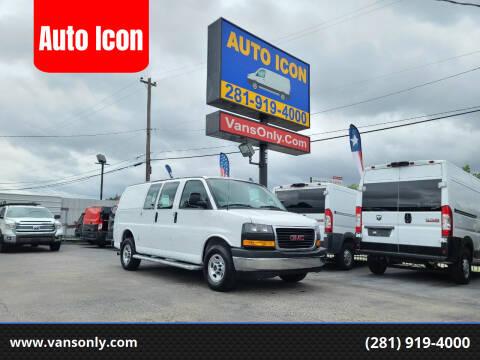 2019 GMC Savana Cargo for sale at Auto Icon in Houston TX