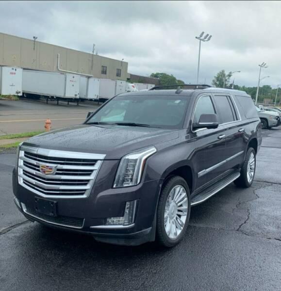 2016 Cadillac Escalade ESV for sale at Automazed in Attleboro MA
