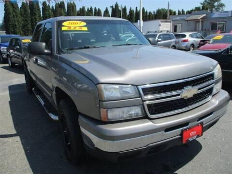 2007 Chevrolet Silverado 1500 Classic for sale at GMA Of Everett in Everett WA