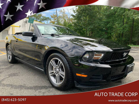 2010 Ford Mustang for sale at AUTO TRADE CORP in Nanuet NY