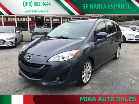 2012 Mazda MAZDA5 for sale at Mira Auto Sales in Raleigh NC