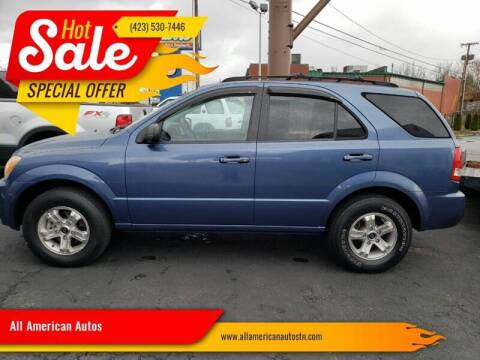 2005 Kia Sorento for sale at All American Autos in Kingsport TN