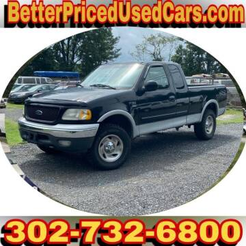 2000 Ford F-150 for sale at Better Priced Used Cars in Frankford DE