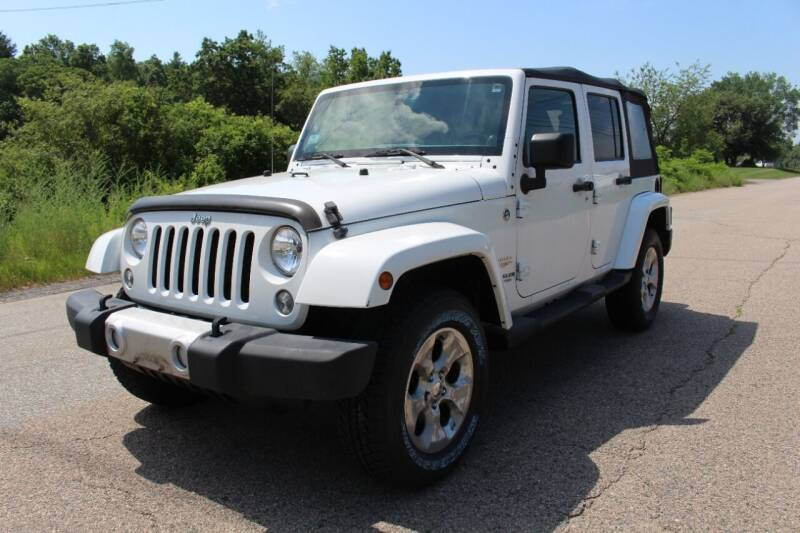 2014 Jeep Wrangler Unlimited for sale at Imotobank in Walpole MA