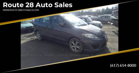 2008 Mazda MAZDA5 for sale at Route 28 Auto Sales in Canton MA