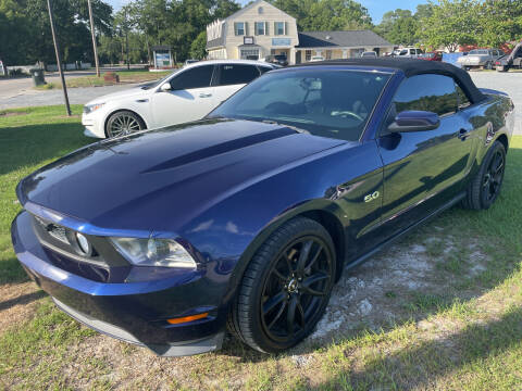 2012 Ford Mustang for sale at LAURINBURG AUTO SALES in Laurinburg NC