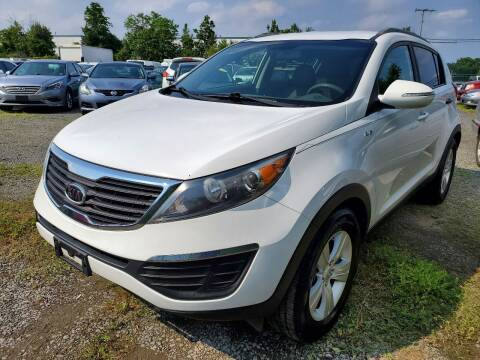 2011 Kia Sportage for sale at M & M Auto Brokers in Chantilly VA