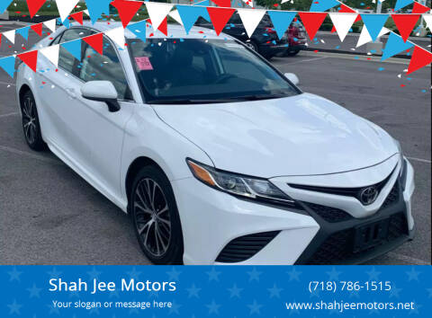 2020 Toyota Camry for sale at Shah Jee Motors in Woodside NY