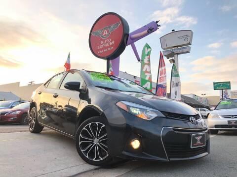 2016 Toyota Corolla for sale at Auto Express in Chula Vista CA