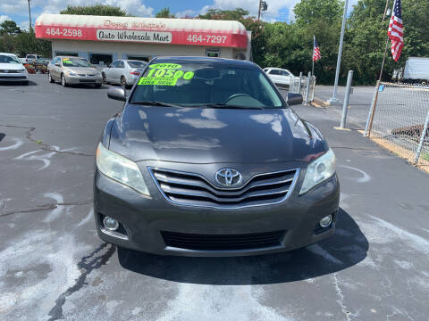 2010 Toyota Camry for sale at Doug White's Auto Wholesale Mart in Newton NC