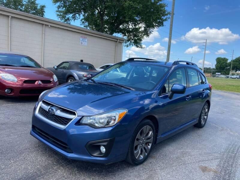 2013 Subaru Impreza for sale at Top Garage Commercial LLC in Ocoee FL