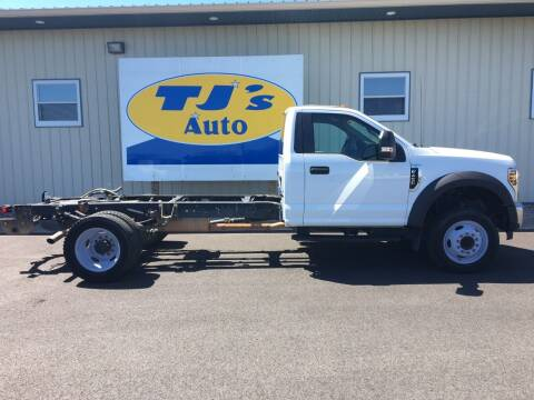 2018 Ford F-450 Super Duty for sale at TJ's Auto in Wisconsin Rapids WI