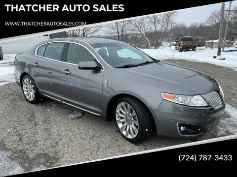 2011 Lincoln MKS for sale at THATCHER AUTO SALES in Export PA