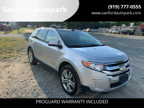 2013 Ford Edge for sale at Sanford Autopark in Sanford NC