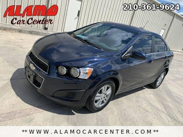 2015 Chevrolet Sonic for sale at Alamo Car Center in San Antonio TX