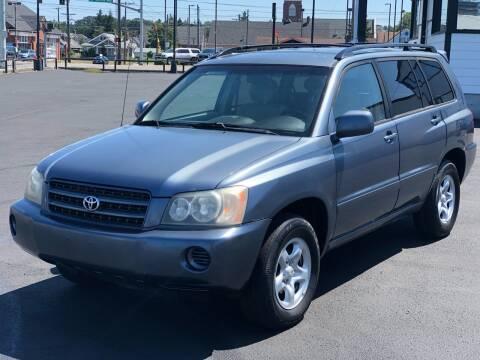 2001 Toyota Highlander for sale at Washington Auto Sales in Tacoma WA