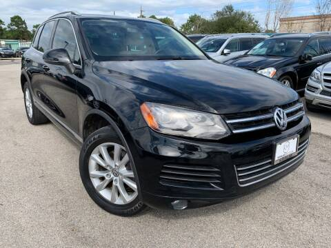 2014 Volkswagen Touareg for sale at KAYALAR MOTORS in Houston TX