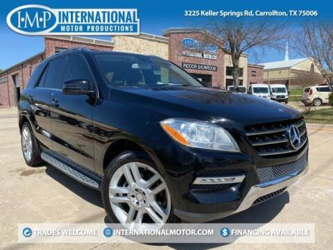 2013 Mercedes-Benz M-Class for sale at International Motor Productions in Carrollton TX