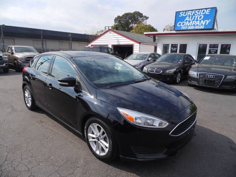2016 Ford Focus for sale at Surfside Auto Company in Norfolk VA