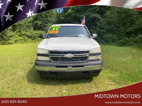 2006 Chevrolet Silverado 1500 for sale at Midtown Motors in Greenbrier TN