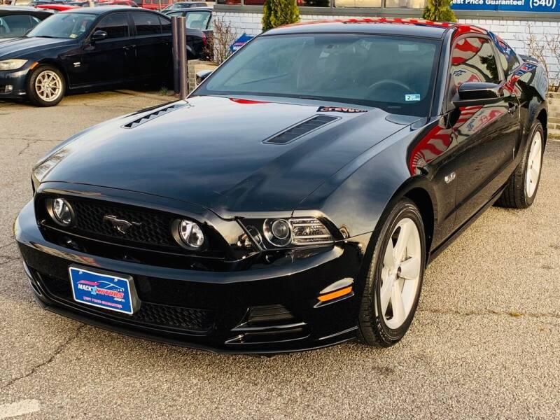 2013 Ford Mustang for sale at Mack 1 Motors in Fredericksburg VA
