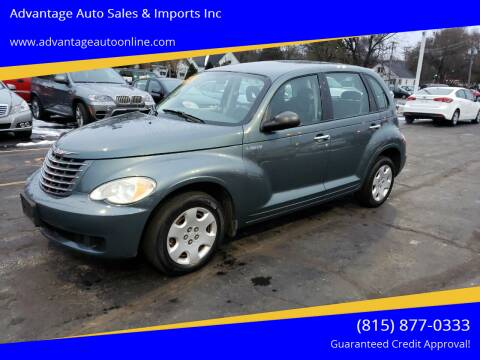 2006 Chrysler PT Cruiser for sale at Advantage Auto Sales & Imports Inc in Loves Park IL