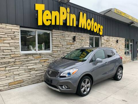 2013 Buick Encore for sale at TenPin Motors LLC in Fort Atkinson WI