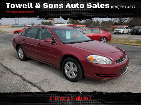 2006 Chevrolet Impala for sale at Towell & Sons Auto Sales in Manila AR