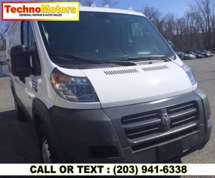 2018 RAM ProMaster Cargo for sale at Techno Motors in Danbury CT
