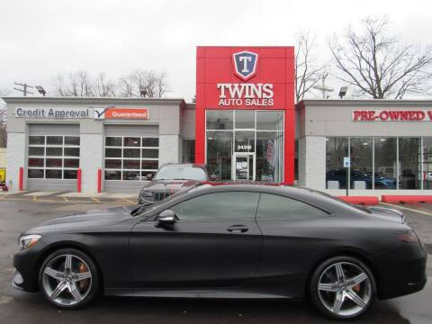 2016 Mercedes-Benz S-Class for sale at Twins Auto Sales Inc in Detroit MI