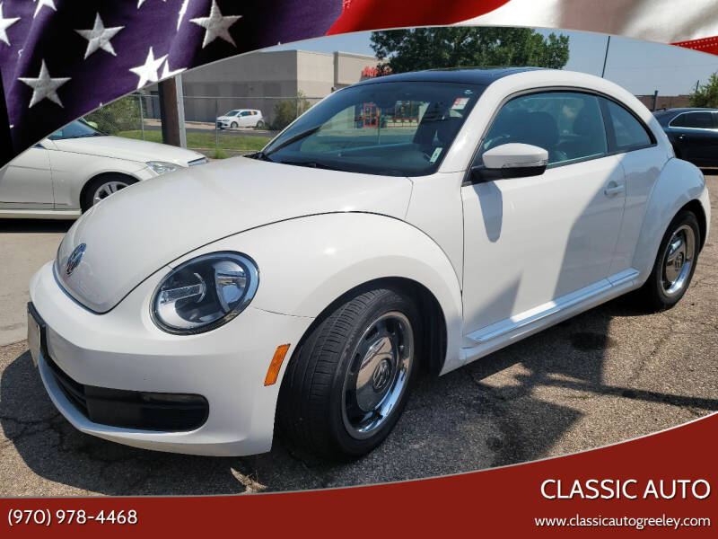 2012 Volkswagen Beetle for sale at Classic Auto in Greeley CO