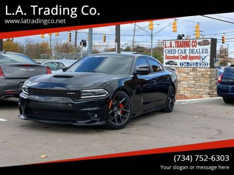 2017 Dodge Charger for sale at L.A. Trading Co. in Woodhaven MI