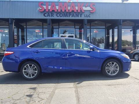 2015 Toyota Camry for sale at Siamak's Car Company llc in Salem OR