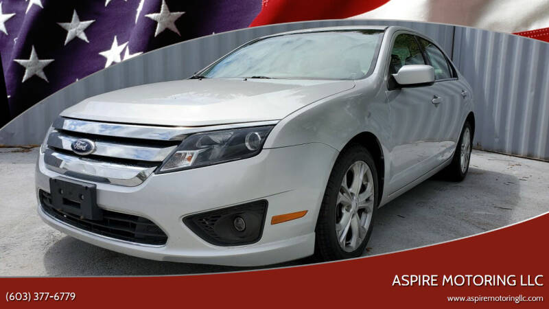 2012 Ford Fusion for sale in Brentwood, NH