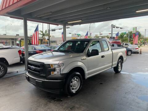 2017 Ford F-150 for sale at American Auto Sales in Hialeah FL