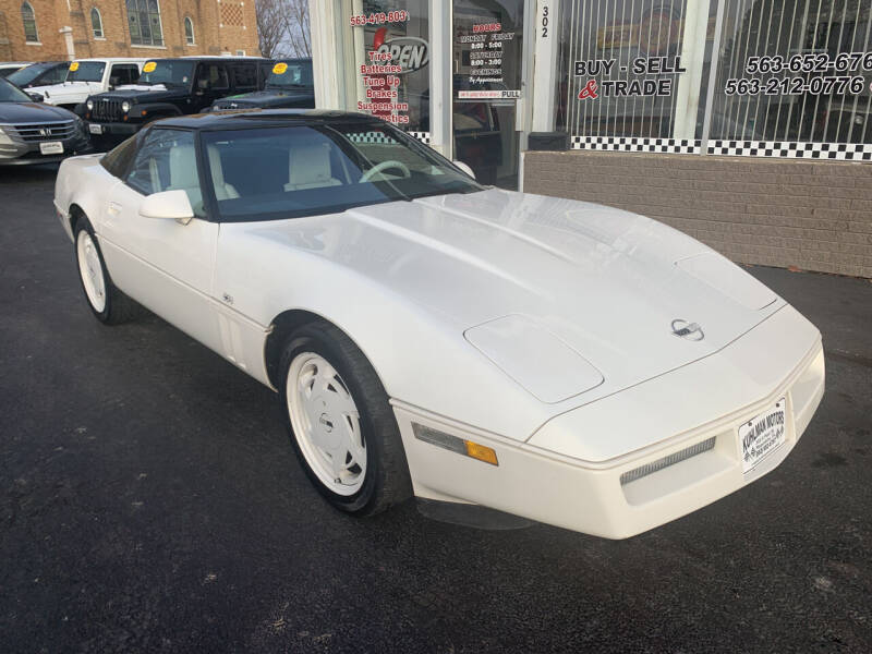 1988 Chevrolet Corvette for sale at KUHLMAN MOTORS in Maquoketa IA