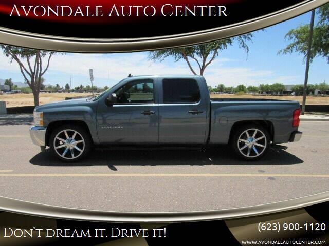 2012 Chevrolet Silverado 1500 for sale at Avondale Auto Center in Avondale AZ
