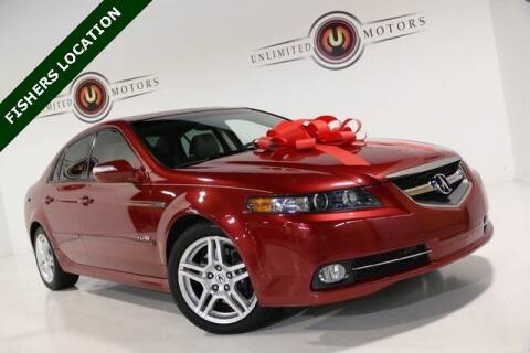 2007 Acura TL for sale at Unlimited Motors in Fishers IN