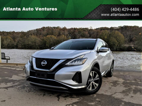 2020 Nissan Murano for sale at Atlanta Auto Ventures in Roswell GA
